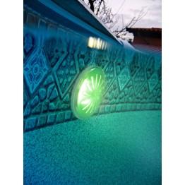 Цветно LED осветление за басейни