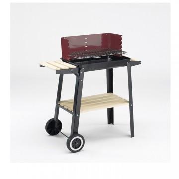 Барбекю за дървени въглища-84х87х44см. 0566