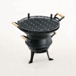 Чугунено Барбекю за дървени въглища-53х62х52см.