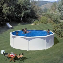 GRE Сглобяем басейн с метална стена кръг ф550 h 120см.