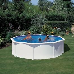 GRE Сглобяем басейн с метална стена кръг ф460 h 120см.