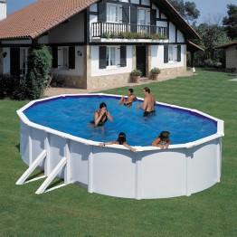 GRE Сглобяем басейн с метална стена овал 500 x 350 h 120см.