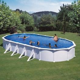 GRE Сглобяем басейн с метална стена овал 1000 X 550 h 132см.