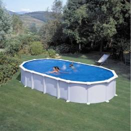 GRE Сглобяем басейн с метална стена овал 730 x 375 h 132см.