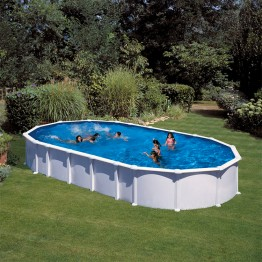 GRE Сглобяем басейн с метална стена овал 915 x 470 h 132см.