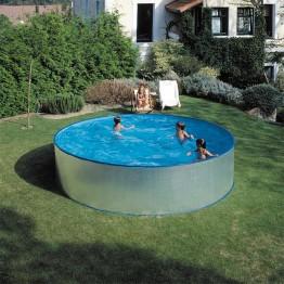 GRE Сглобяем басейн с метална стена кръг ф450 h 90см.
